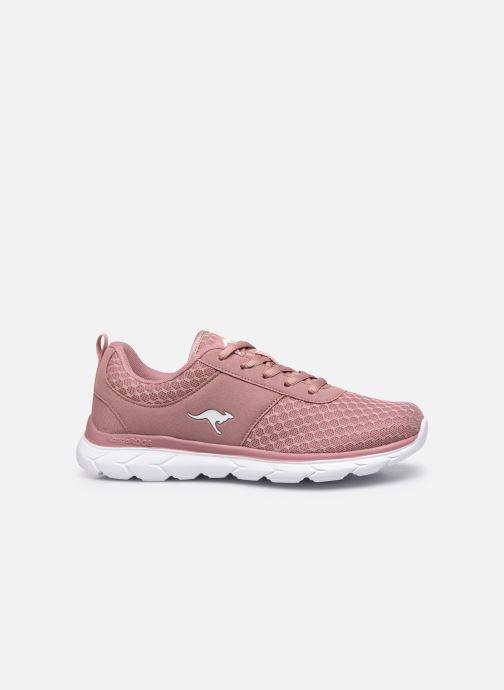 Sneaker Kangaroos KN-Bumpy rosa ansicht von hinten