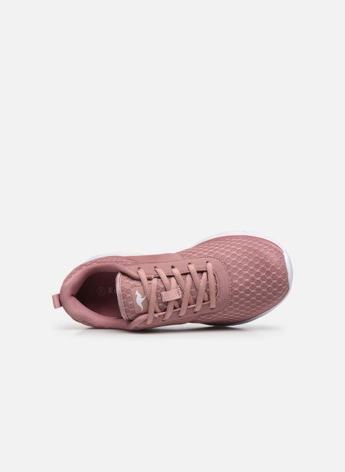 Sneaker Kangaroos KN-Bumpy rosa ansicht von links