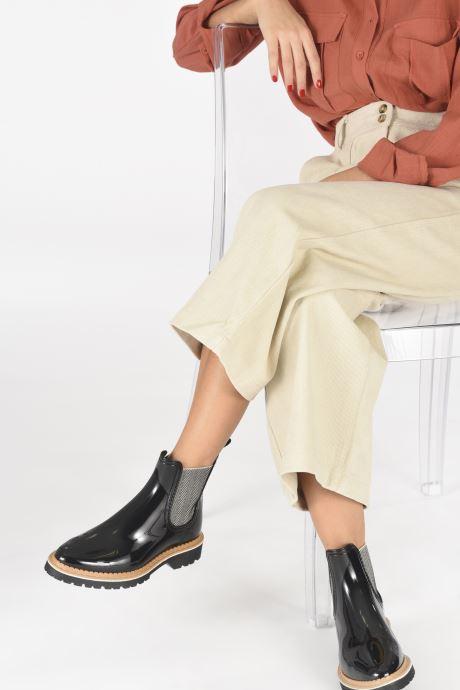 Stiefeletten & Boots Lemon Jelly Lakisha schwarz ansicht von unten / tasche getragen