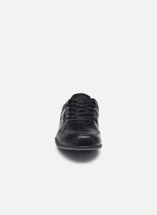 Baskets Kappa Parra Noir vue portées chaussures