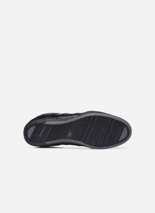 Sneaker Kappa Parra schwarz ansicht von oben