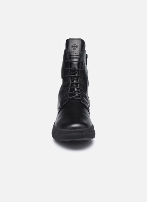 Bottines et boots HÖGL Newton Noir vue portées chaussures