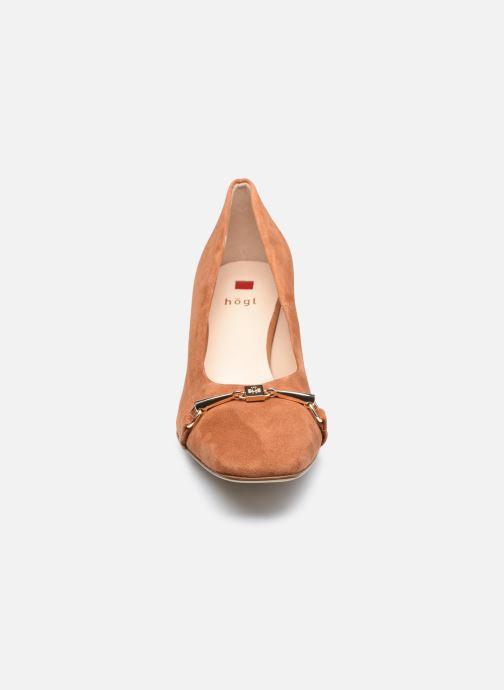 Zapatos de tacón HÖGL Romy II Marrón vista del modelo