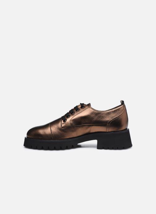 Chaussures à lacets HÖGL Progresser Or et bronze vue face