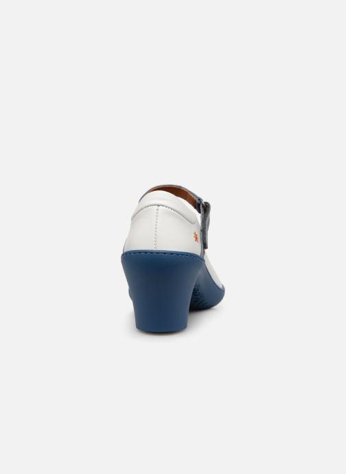Zapatos de tacón Art Alfama 1447 V Blanco vista lateral derecha