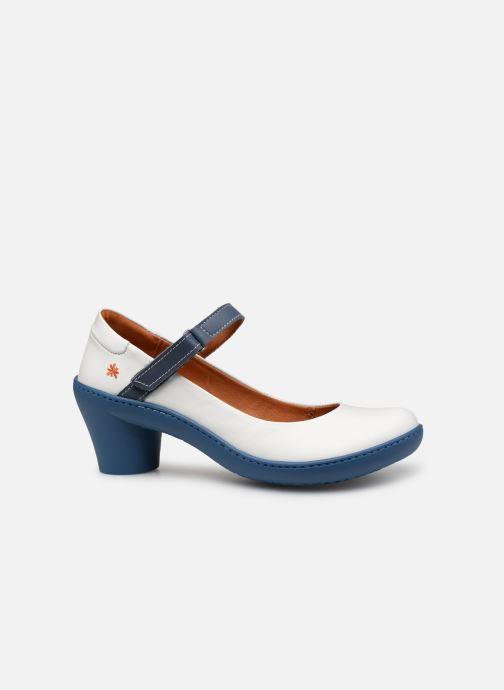 Zapatos de tacón Art Alfama 1447 V Blanco vistra trasera