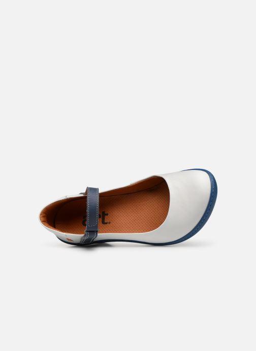 Zapatos de tacón Art Alfama 1447 V Blanco vista lateral izquierda