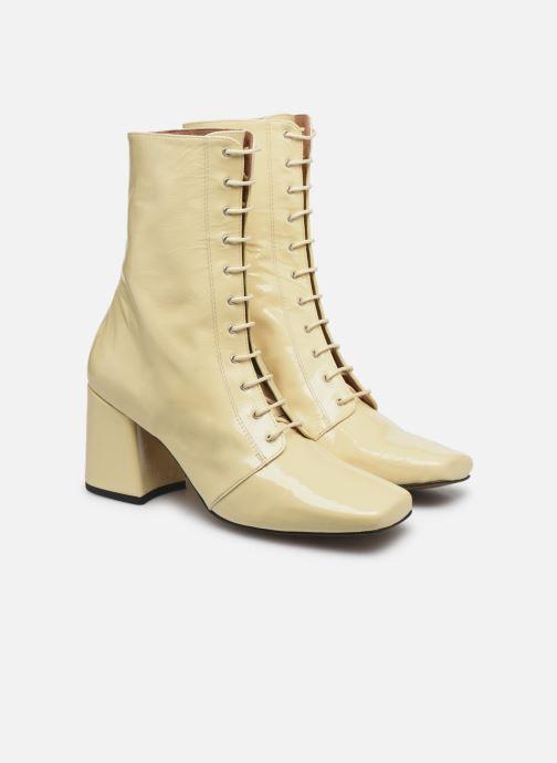 Bottines et boots About Arianne Stevie Blanc vue 3/4