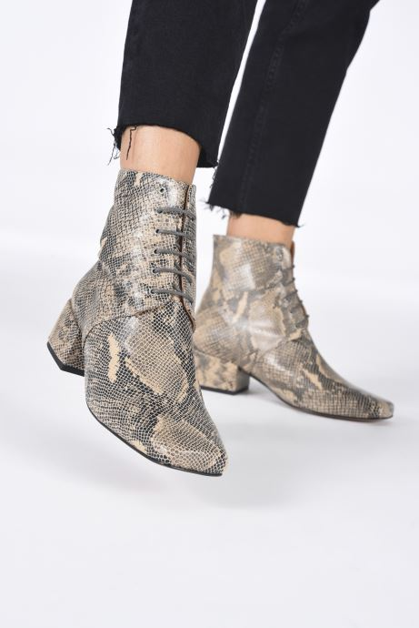 Bottines et boots About Arianne Gabriel Beige vue bas / vue portée sac