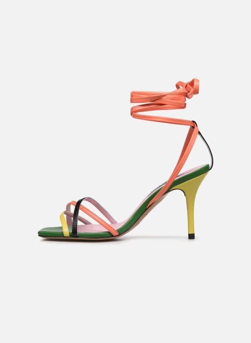 Sandales et nu-pieds Essentiel Antwerp Wavering Strappy Sandals Multicolore vue face