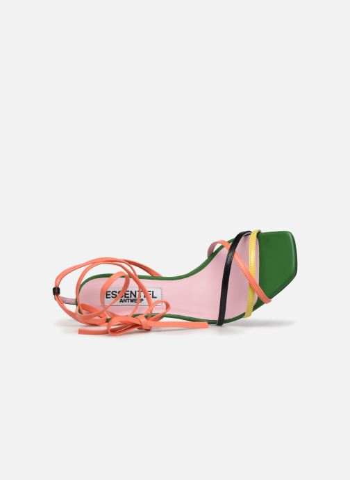 Sandales et nu-pieds Essentiel Antwerp Wavering Strappy Sandals Multicolore vue gauche