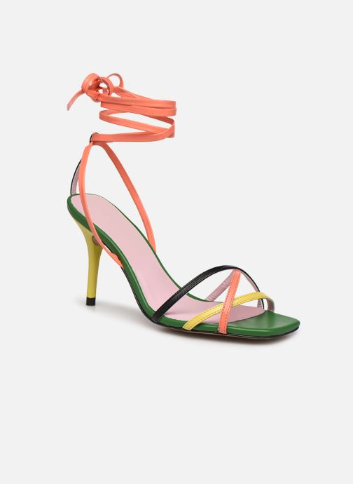 Sandales et nu-pieds Essentiel Antwerp Wavering Strappy Sandals Multicolore vue détail/paire
