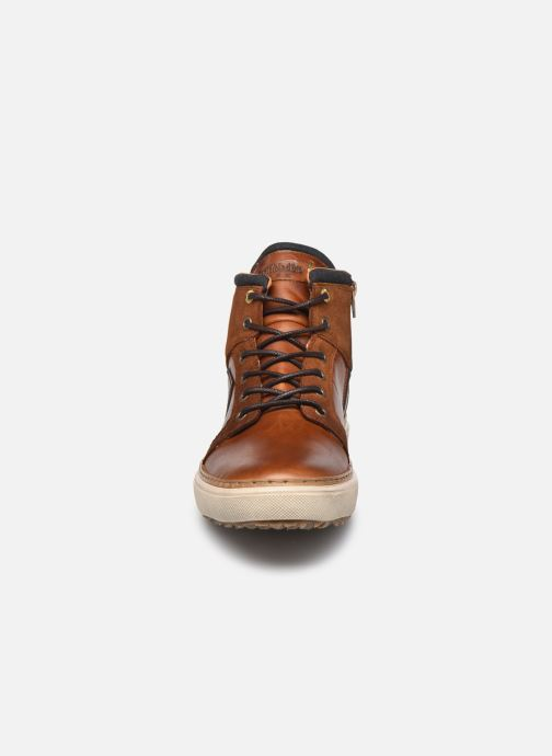 Baskets Pantofola d'Oro BENEVENTO UOMO HIGH Marron vue portées chaussures