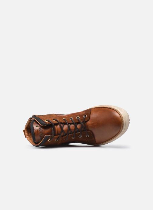 Baskets Pantofola d'Oro BENEVENTO UOMO HIGH Marron vue gauche