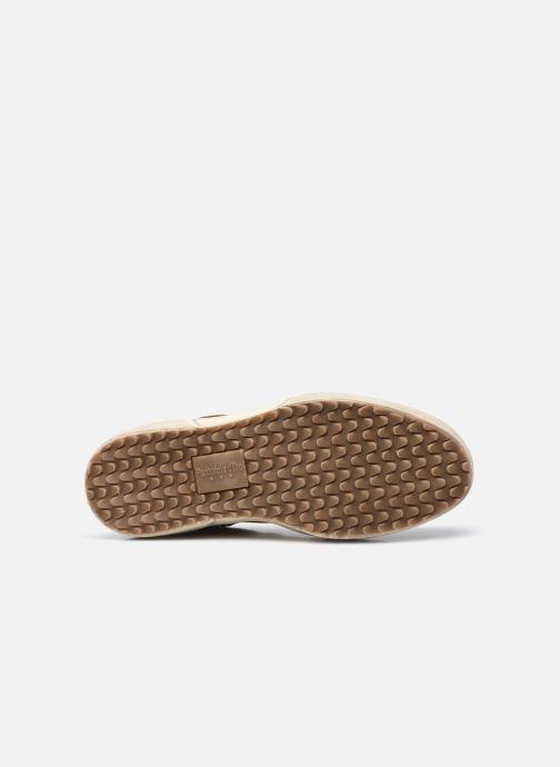 Baskets Pantofola d'Oro BENEVENTO UOMO HIGH Marron vue haut