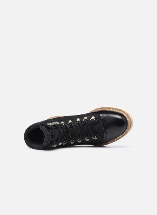 Stivaletti e tronchetti Pantofola d'Oro BERGAMO UOMO LOW Nero immagine sinistra