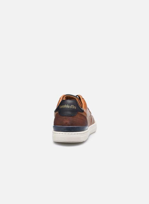 Baskets Pantofola d'Oro RAVIGO UOMO LOW Marron vue droite