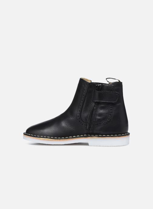 Bottines et boots Young Soles Marlowe Noir vue face