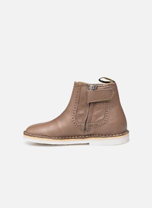 Bottines et boots Young Soles Marlowe Marron vue face