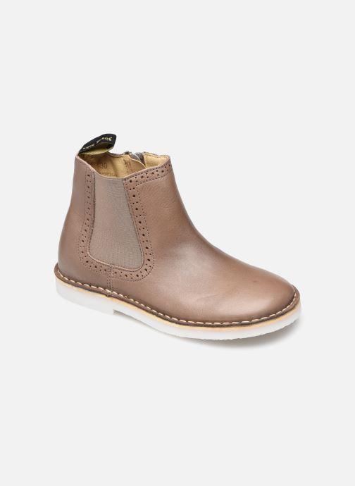 Bottines et boots Young Soles Marlowe Marron vue détail/paire