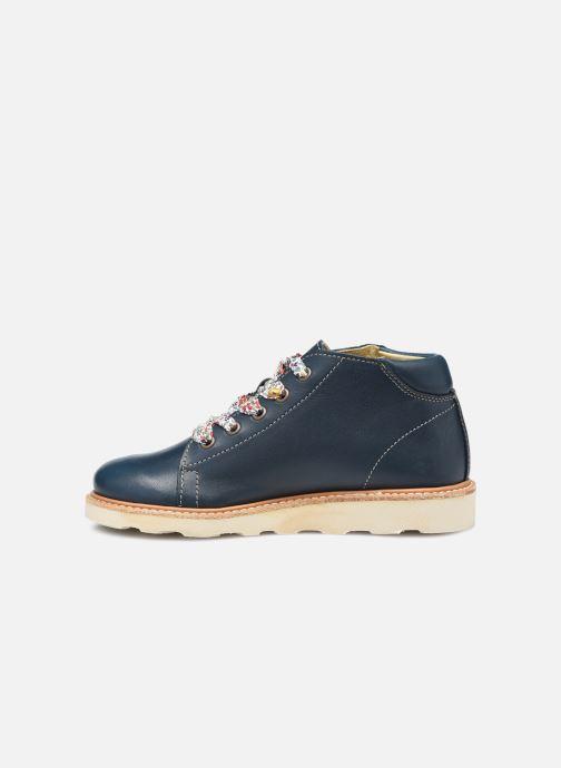 Zapatos con cordones Young Soles Hattie Azul vista de frente