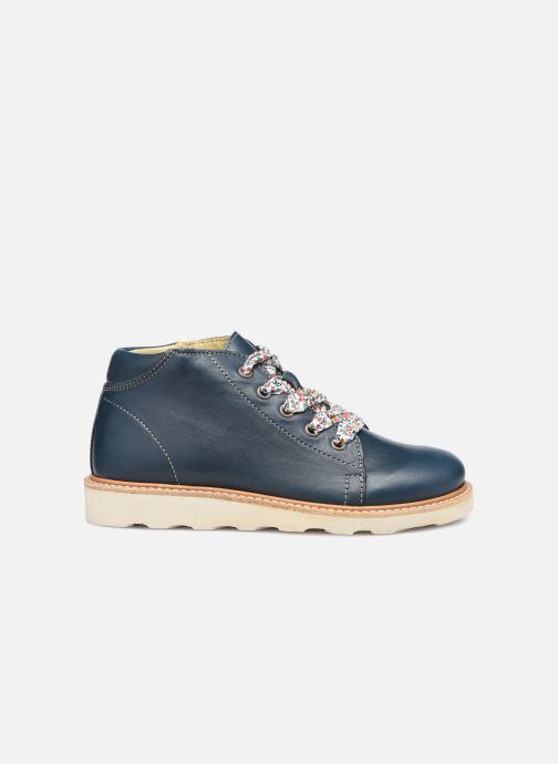 Zapatos con cordones Young Soles Hattie Azul vistra trasera