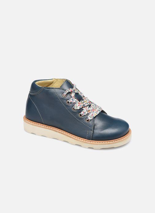 Chaussures à lacets Young Soles Hattie Bleu vue détail/paire