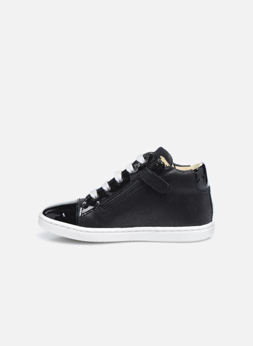 Sneaker Rose et Martin JADE LEATHER schwarz ansicht von vorne