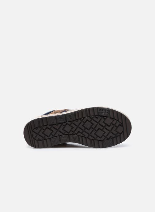 Sneakers Stones and Bones Baset Bruin boven