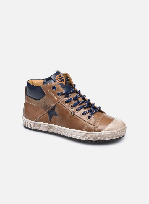 Sneakers Stones and Bones Baset Bruin detail