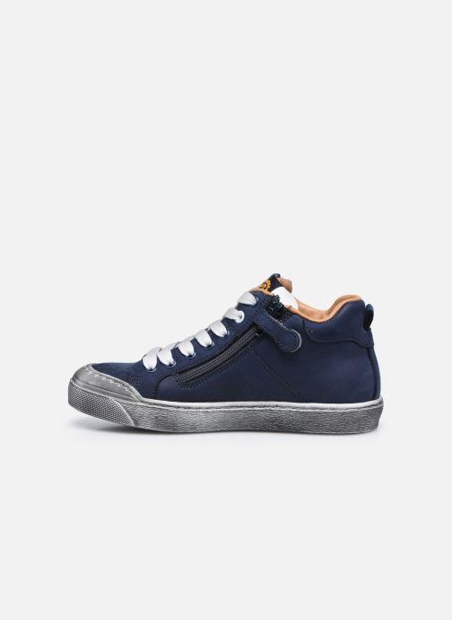 Sneaker Stones and Bones Gosty blau ansicht von vorne