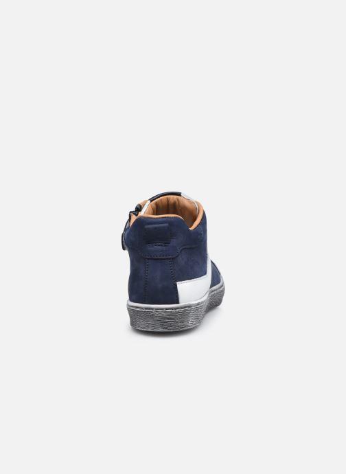 Sneaker Stones and Bones Gosty blau ansicht von rechts