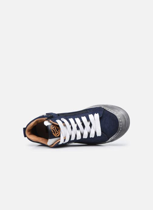 Sneaker Stones and Bones Gosty blau ansicht von links