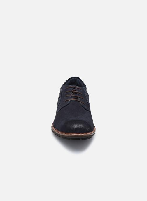 Zapatos con cordones Josef Seibel Jasper 52 Azul vista del modelo