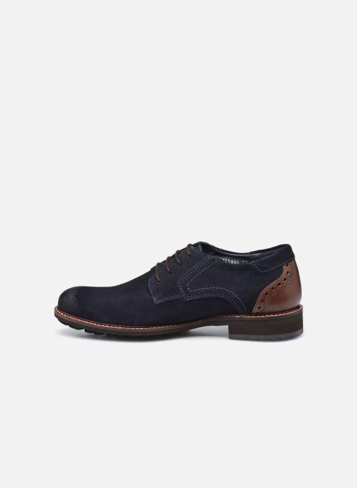 Zapatos con cordones Josef Seibel Jasper 52 Azul vista de frente