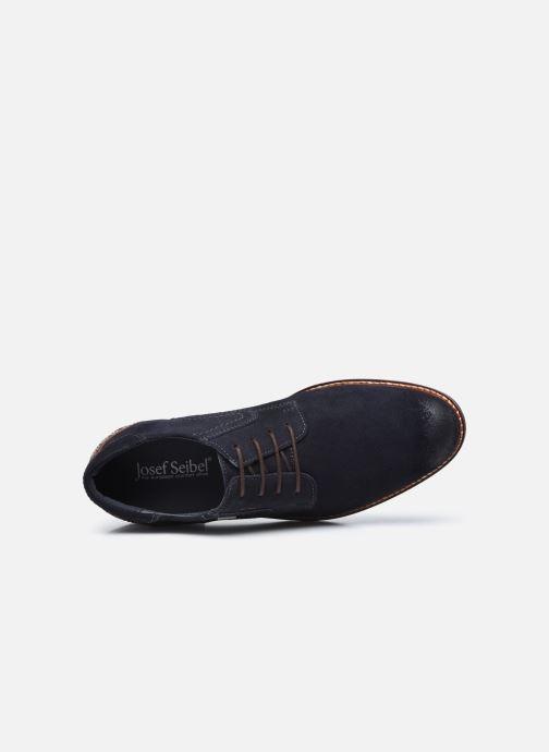 Zapatos con cordones Josef Seibel Jasper 52 Azul vista lateral izquierda