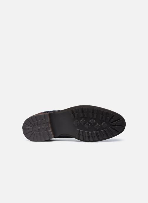 Chaussures à lacets Josef Seibel Jasper 52 Bleu vue haut