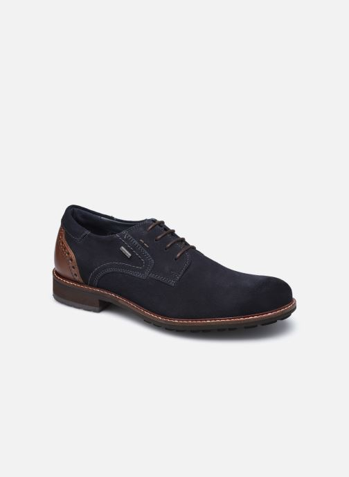 Zapatos con cordones Josef Seibel Jasper 52 Azul vista de detalle / par