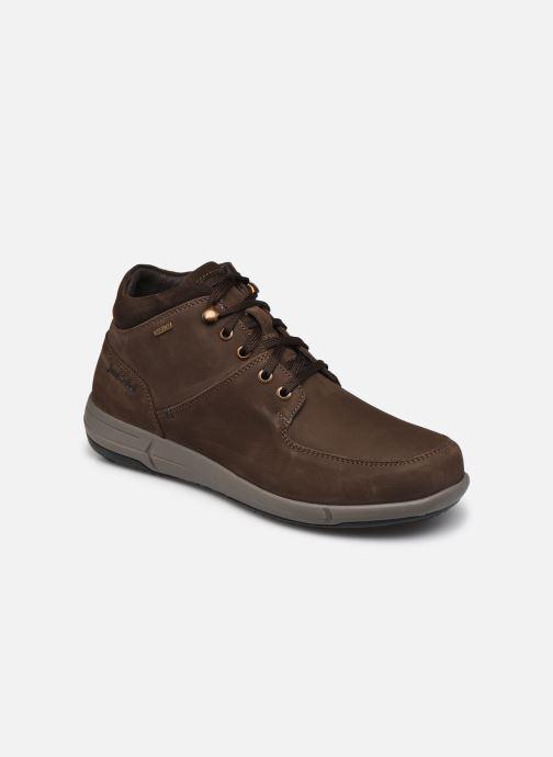 Sneakers Josef Seibel Enrico 52 Brun detaljeret billede af skoene