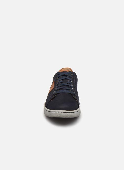 Sneaker Josef Seibel David 01 blau schuhe getragen