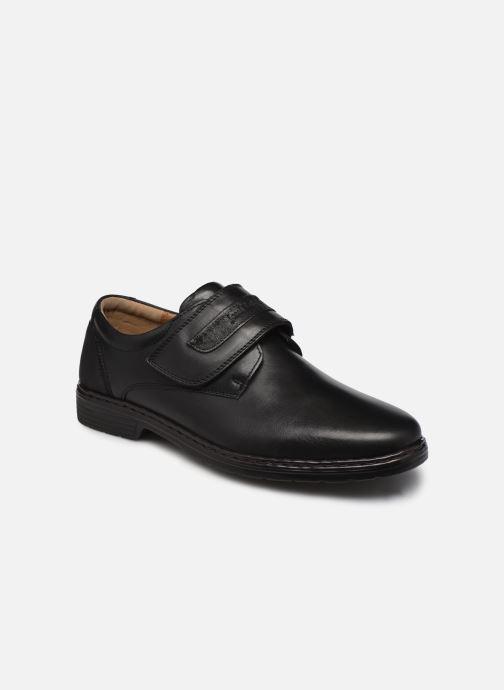 Chaussures à lacets Josef Seibel Alastair 01 Noir vue détail/paire