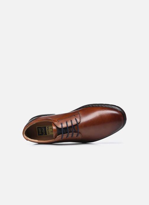 Chaussures à lacets Josef Seibel Alastair 01 Marron vue gauche