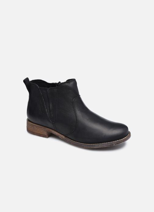Ankelstøvler Josef Seibel Sienna 45 Sort detaljeret billede af skoene
