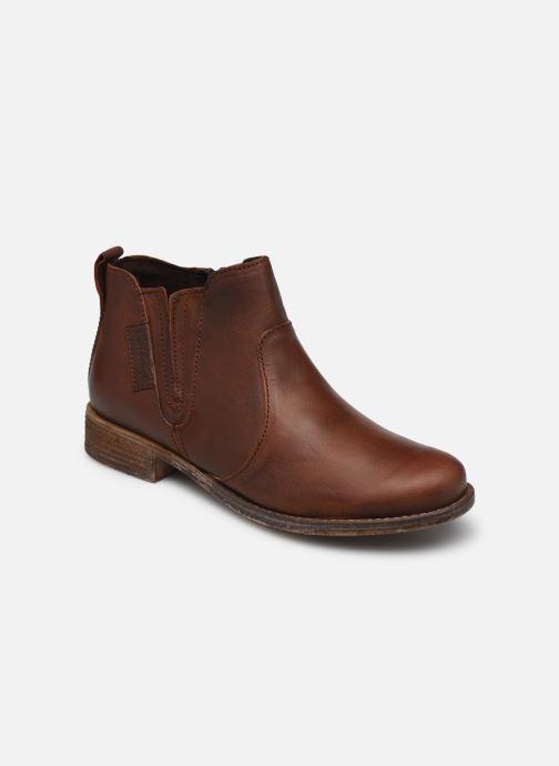 Ankelstøvler Josef Seibel Sienna 45 Brun detaljeret billede af skoene