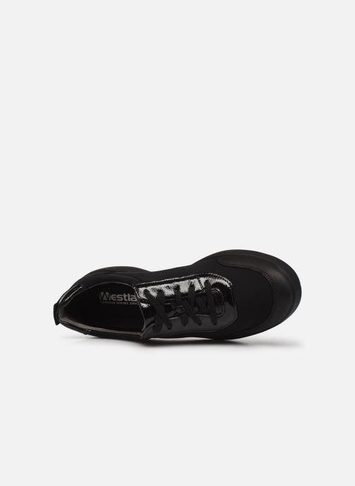 Sneaker Romika Montpellier 02 schwarz ansicht von links