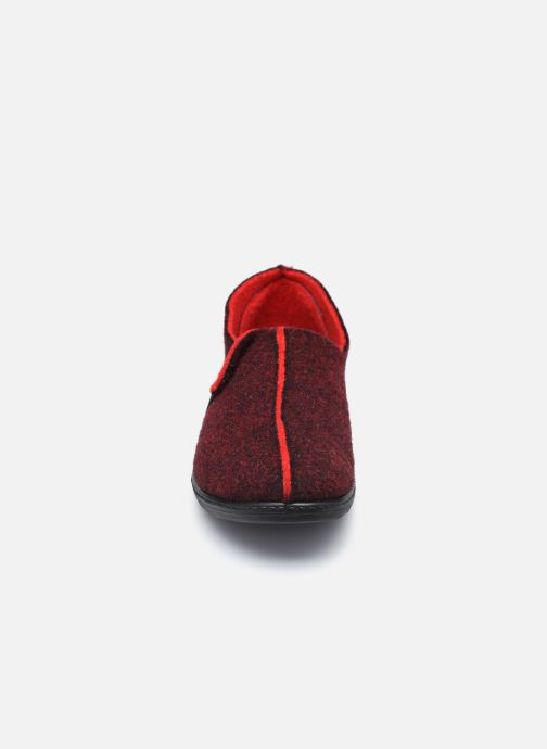 Pantuflas Westland Avignon 126 Rojo vista del modelo
