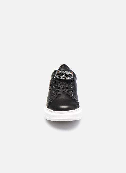 Baskets Karl Lagerfeld Kapri Ikonic Twin Lo Lace Noir vue portées chaussures