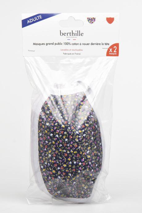 Divers Berthille 2 Masques Adulte Catégorie 1 - norme AFNOR - Multicolore vue portées chaussures