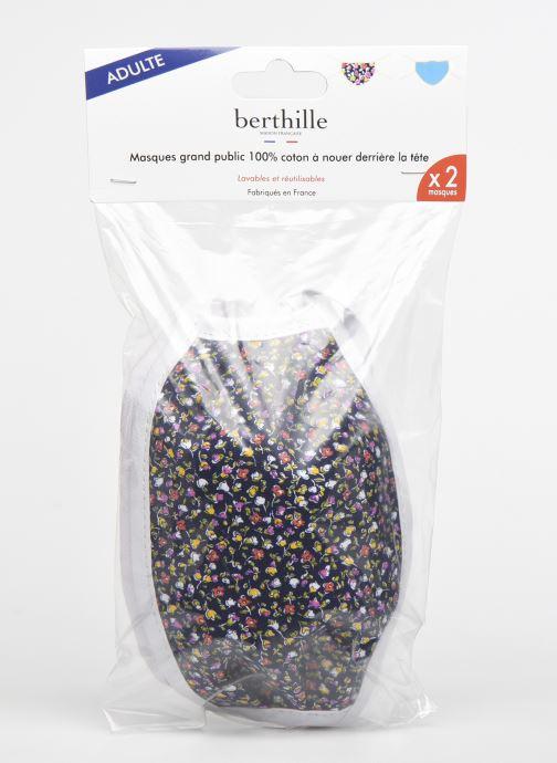 Divers Berthille 2 Masques Adulte Catégorie 1 - norme AFNOR - Multicolore vue bas / vue portée sac