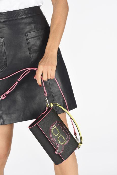 Sacs à main Karl Lagerfeld K/Ikonik Neon Crossbody Noir vue bas / vue portée sac